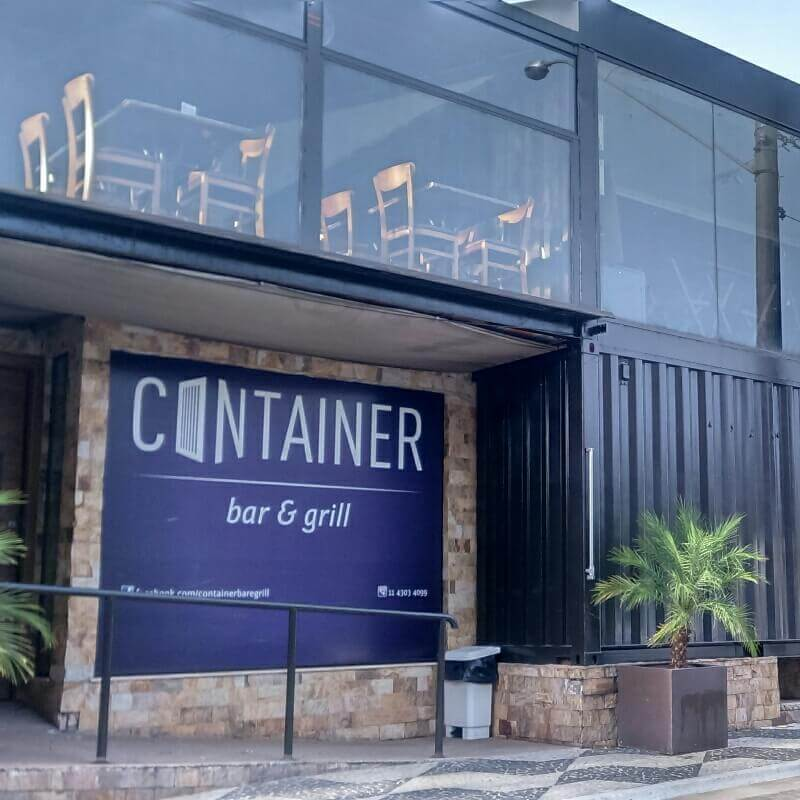 CONTAINER GRILL