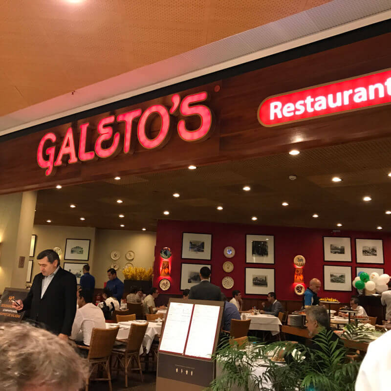 GALETOS SHOPPING IBIRAPUERA
