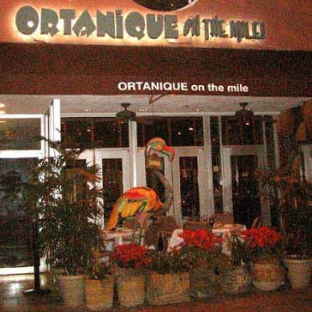 ORTANIQUE ON THE MILE