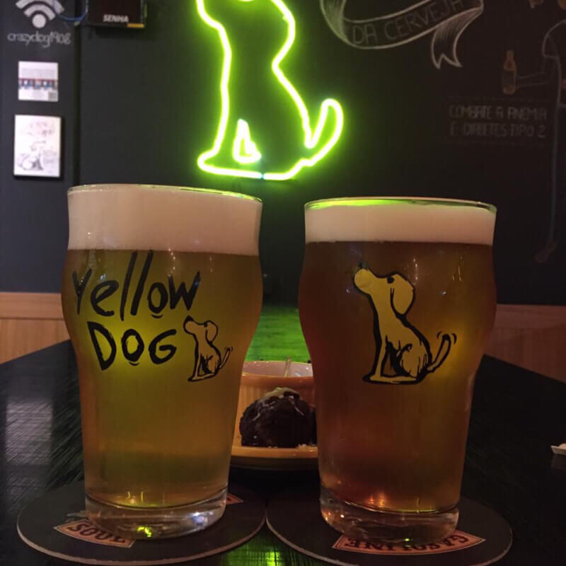 YELLOW DOG BEER STORE